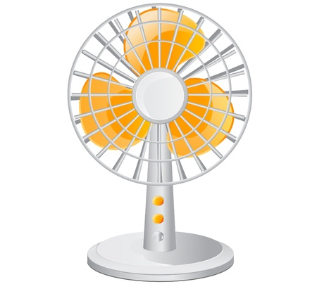 Electric table fan Vector