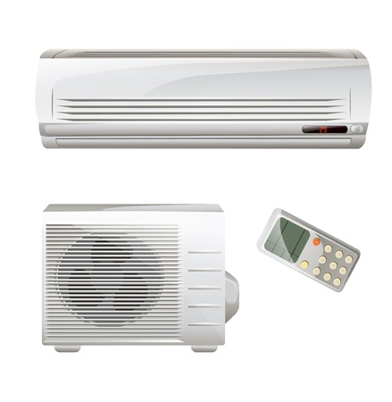electric fan: Air conditioner set