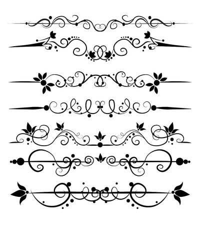 fretwork: set of design elements