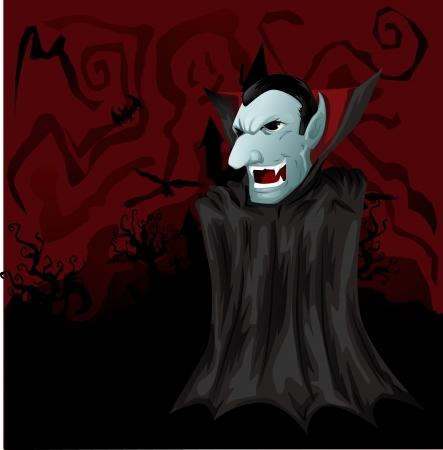 Dracula himself Vector