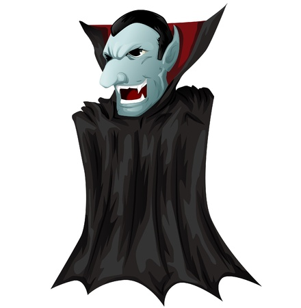 Dracula himself Vector