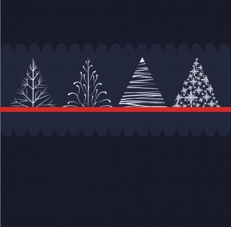Christmas tree design Stock Vector - 16426366