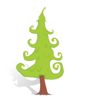 Christmas tree Stock Vector - 16426357