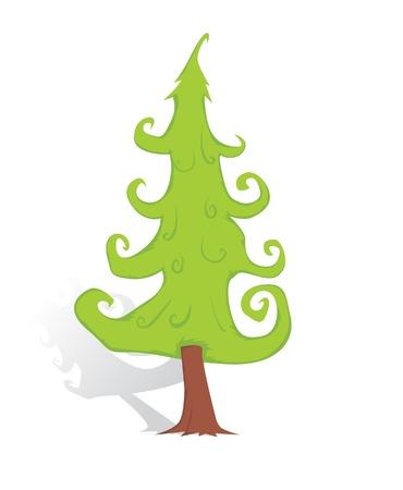 Christmas tree Stock Vector - 16426357