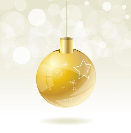 shallow:  Christmas ball  Illustration
