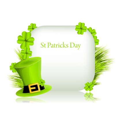 irish banners: St Patricks background