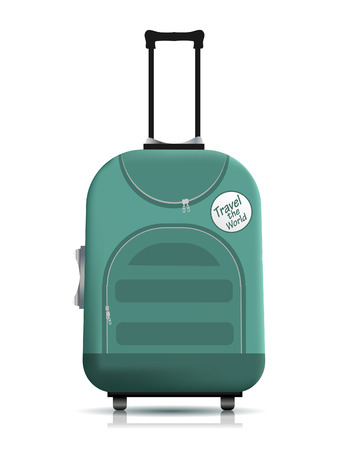 suitcase packing: Travell suitcase