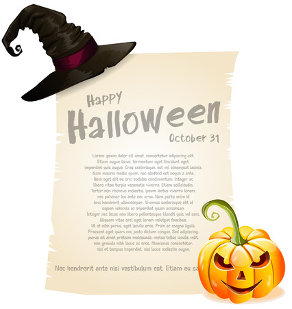 Halloween background Stock Vector - 24328441