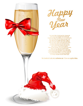 new year background with glass of champagne royalty free cliparts vectors and stock illustration image 24328449