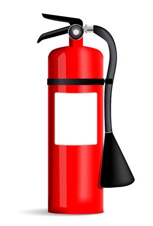 fire extinguisher: Fire extinguisher Illustration