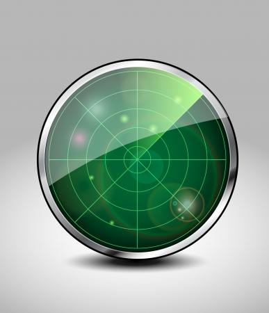 Vector radar Stock Vector - 24328518
