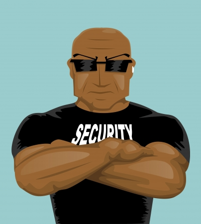 body guard: Security man
