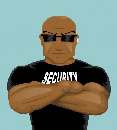 security guard man: Security man