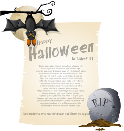 Halloween background Stock Vector - 24328528