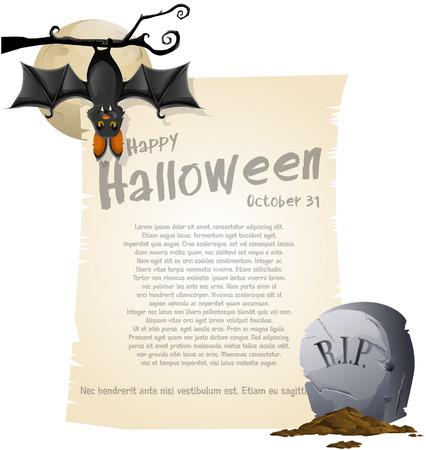 Halloween background Stock Vector - 24328528