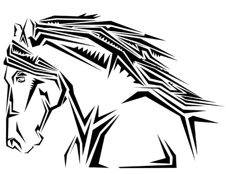 Tatoo cheval