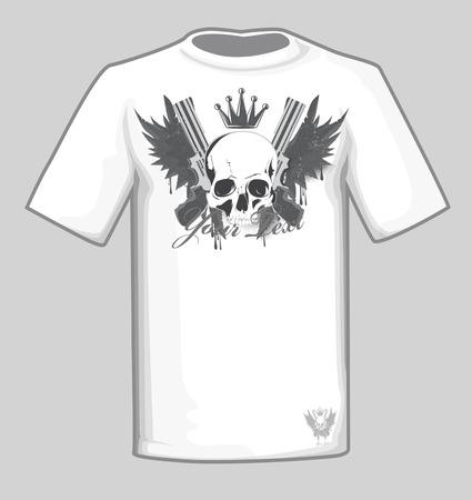 t shirt design: t shirt design Illustration