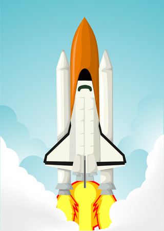 space station: Space shuttle Illustration