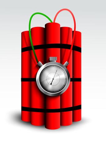time bomb: Dynamites Illustration