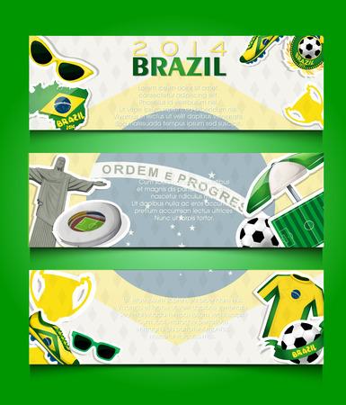 brasil: Banner for Brasil 2014