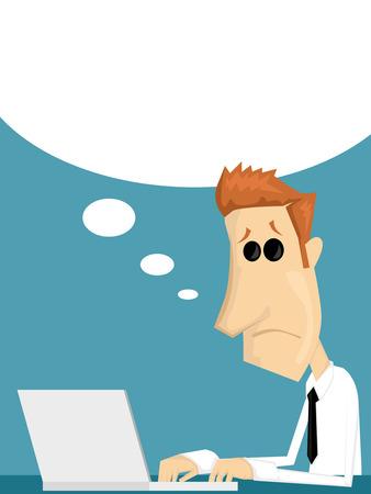 businesslike: Oficinista de la historieta