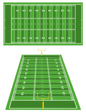 kickoff: American Football fields