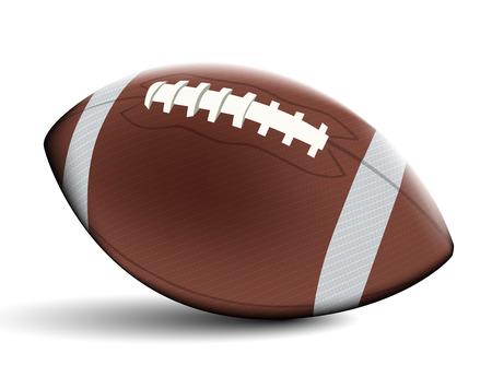 touchdown: Football ball