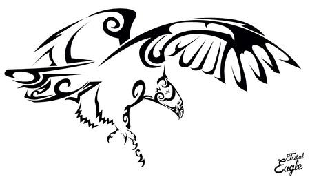 halcones: Aguila tribal