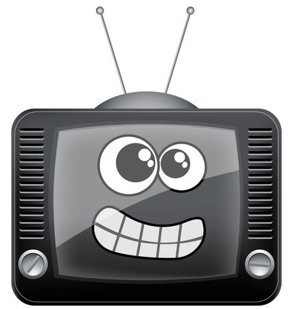 electrical appliances: Cartoon tv