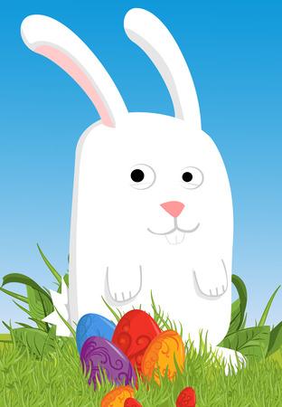 lea: Easter bunny