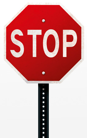 direction sign: Stop Sign