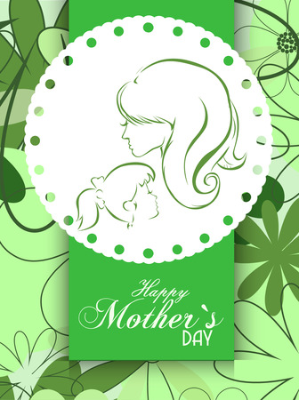 editable sign: Motherss Day background