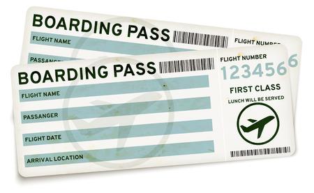 boarding: Boarding pass tickets