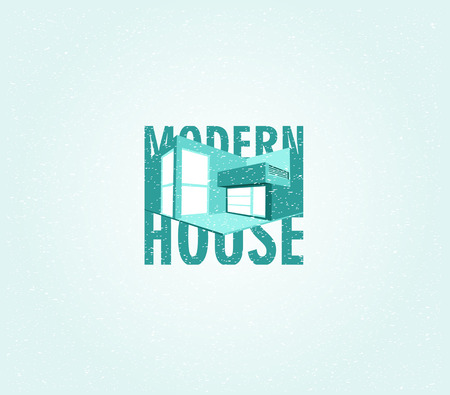 housing project: Modern house