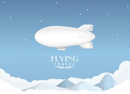 airship: Airship travel background