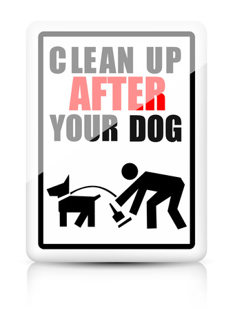dog poop: Clean after your dog