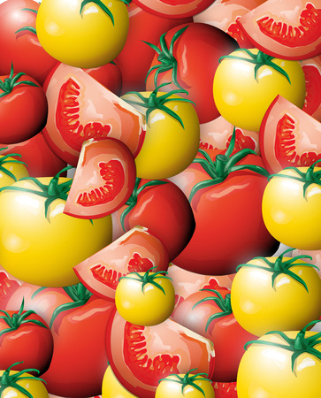 preservative: Tomato background