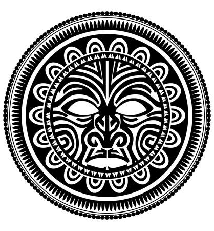 ポリネシアの入れ墨 写真素材 - 40625596