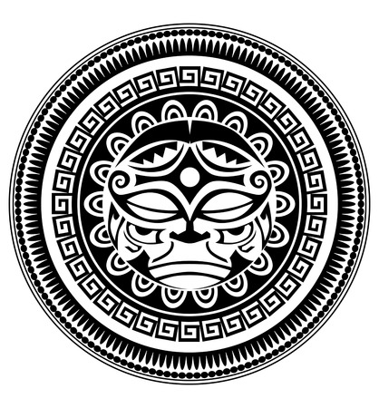 polynesian: Polynesian tattoo