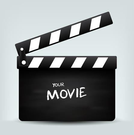 Film Clapper board  Standard-Bild - 40625702
