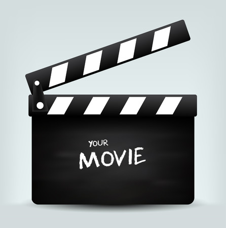 movie: Movie clapper board
