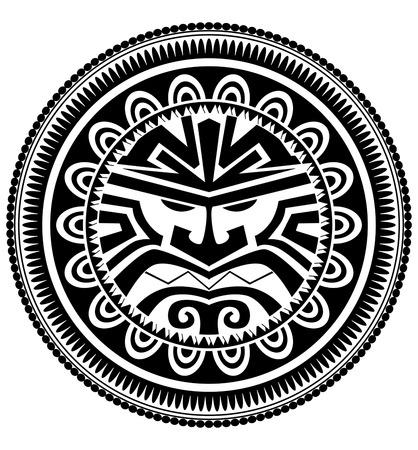 archaic: Polynesian tattoo