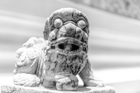 Lion statue thailand