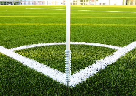 corner football field