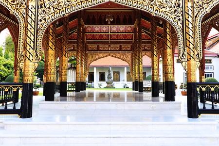 Pavilion thailand temple Banco de Imagens