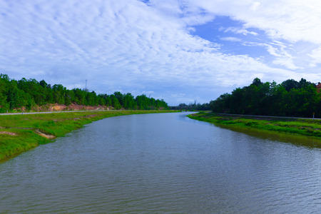 River and Road side Landscape