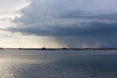 Rain shower cloud