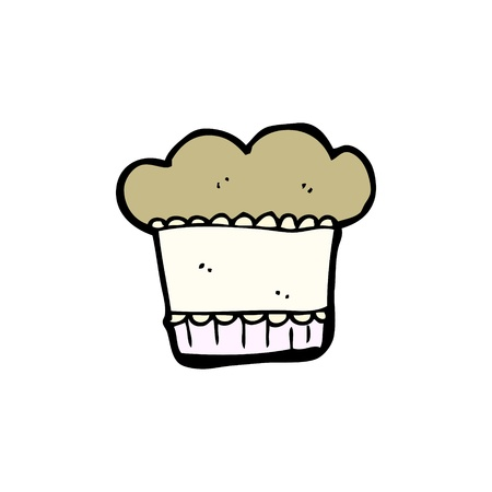 cartoon muffin Stock Vector - 15799259