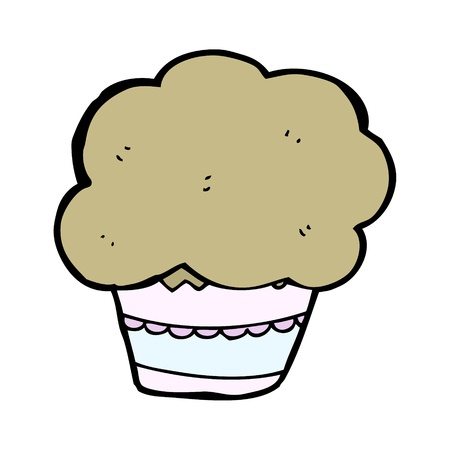 cartoon muffin Stock Vector - 15799256