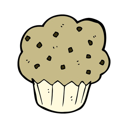 cartoon muffin Stock Vector - 15799270